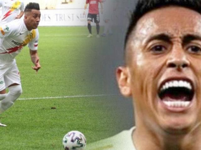 Christian Cueva: Yeni Malatyaspor venció por 2-1 al Genclerbirligi
