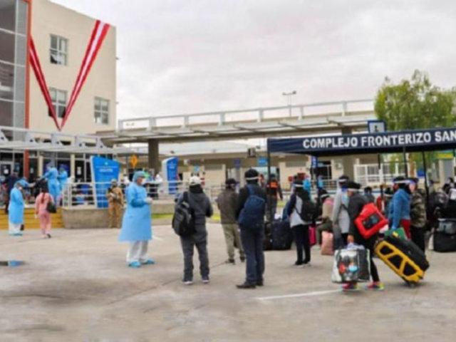 Reactivación en Tacna: inician coordinaciones para reapertura de frontera con Chile