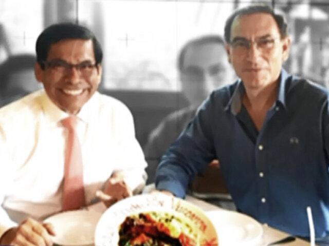 ¡Exclusivo! Vínculo entre Vizcarra y Hernández queda comprobado, pese a negar amistad