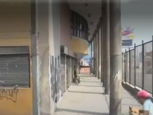 Exterminal de Fiori se ha convertido en guarida de personas de mal vivir, denuncian vecinos