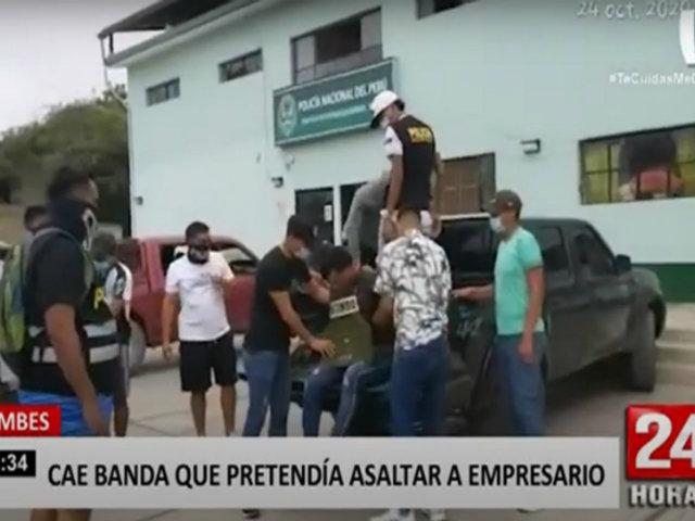 Tumbes: policías vestidos de civil frustran robo armado a un empresario
