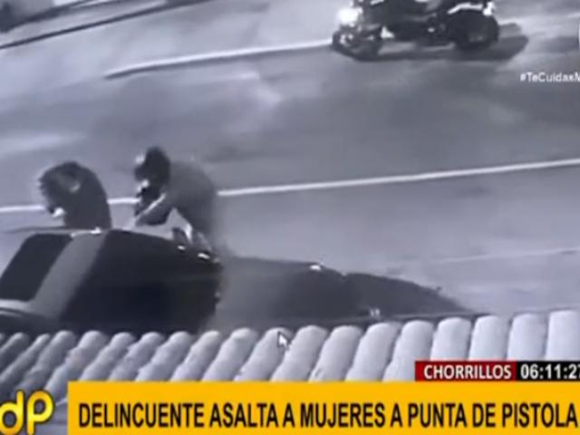 Chorrillos: alerta por incremento de asaltos a mano armada