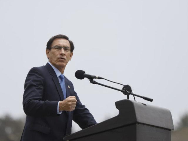 Vizcarra: Hay fuerzas que buscan aprovecharse de la pandemia para atentar contra la democracia