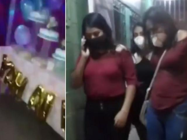 Tumbes: Policía intervino quinceañero y detuvo a 14 personas