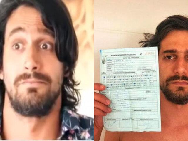 Miraflores: Actor fue multado por nadar en playa de Costa Verde durante el fin de semana