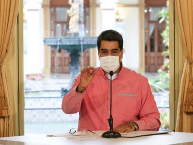 """Nicolás Maduro afirma que """"Venezuela encontró una medicina que aniquila al 100 % la COVID-19"""""""