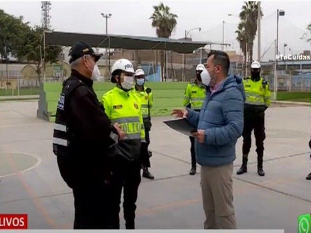 Los Olivos: Policía resguarda a dirigente vecinal que denunció amenazas de muerte contra él y su familia