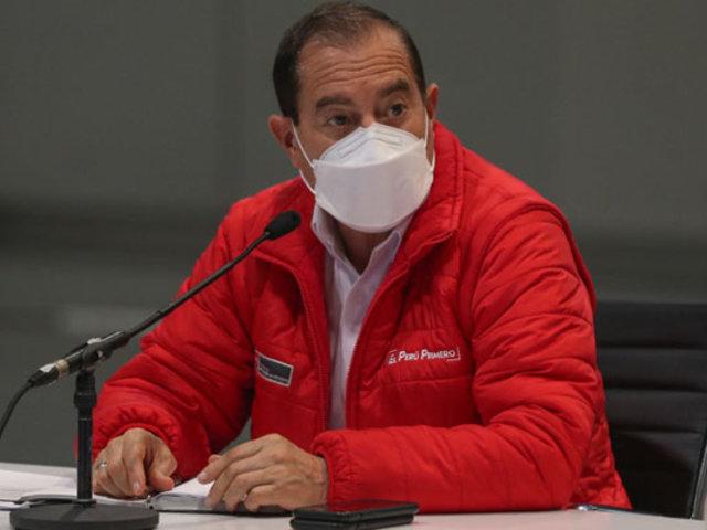 """""""Jamás utilizaremos a las Fuerzas Armadas en actos políticos"""", afirma premier Martos"""