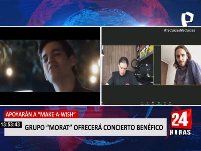 """""""Make a Wish"""": Grupo Morat ofrecerá concierto benéfico"""