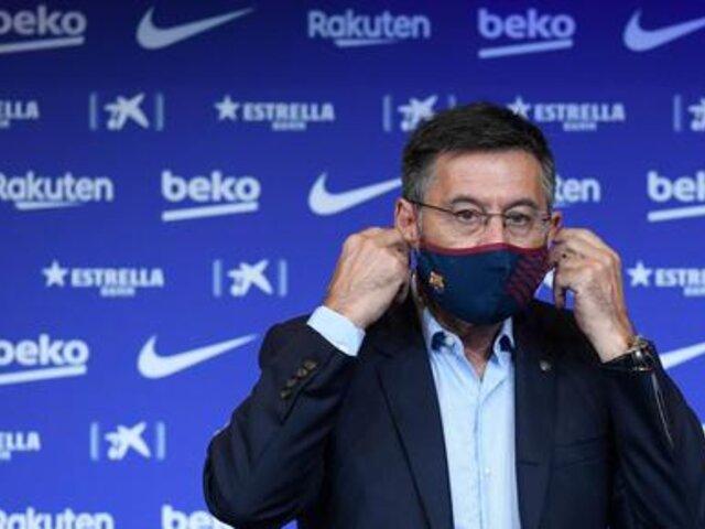 FC Barcelona: Josep María Bartomeu no va más en el equipo catalán