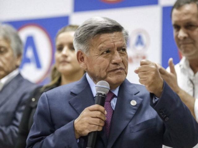 Elecciones 2021: César Acuña fue inscrito como precandidato a la presidencia por APP
