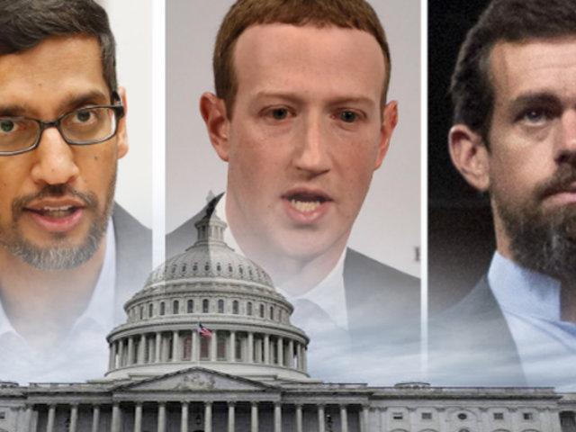 Google, Facebook y Twitter se defienden ante Senado de EE UU