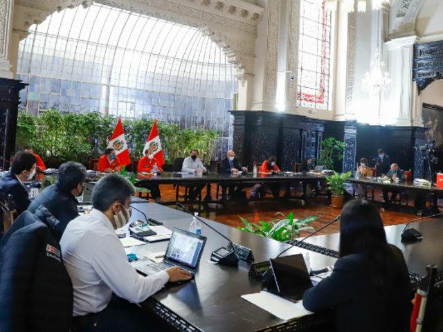 Hoy se realiza nueva sesión de Consejo de Ministros liderada por Vizcarra