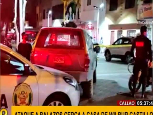 Terror en el Callao por nueva balacera cerca a casa de Wilbur Castillo