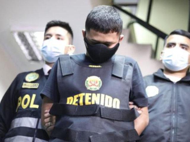 SMP: capturan a delincuente que simulaba limpiar parabrisas para robar a pasajeros