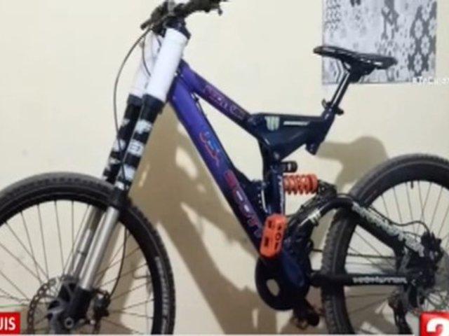 San Luis: Delincuentes ingresan a vivienda y roban 3 bicicletas de alta gama