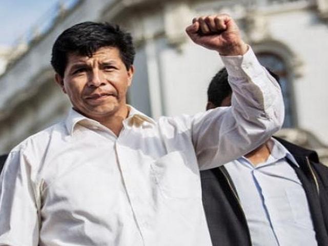 Elecciones 2021: Perú Libre presenta a Pedro Castillo Terrones como precandidato presidencial