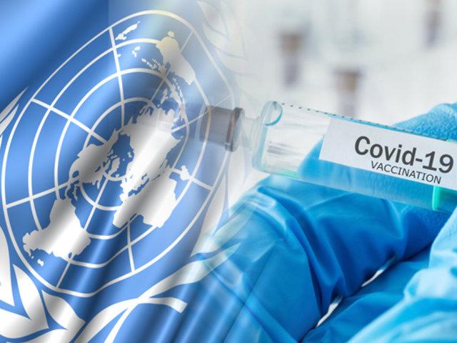 """ONU pide que vacuna de COVID-19 sea """"accesible"""" para todos"""