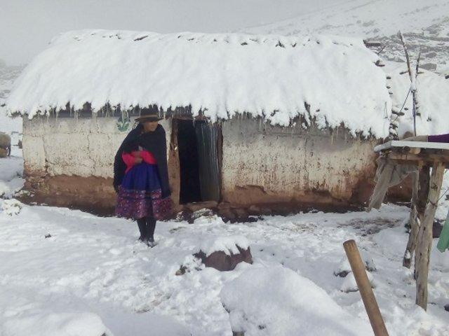 Hasta 13° bajo cero: advierten descenso de temperatura en la sierra sur