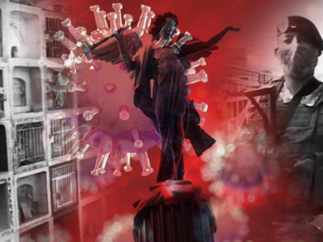 """Cementerios de Lima: un """"Día de los Muertos"""" en pandemia"""