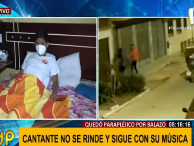"""Crimen de cantante que quedó parapléjico tras asalto queda impune: """"La justicia no vale nada"""""""