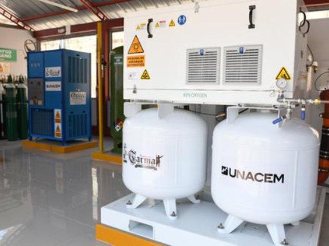 Tarma: inauguran nueva planta de oxígeno medicinal para atender a pacientes con Covid-19