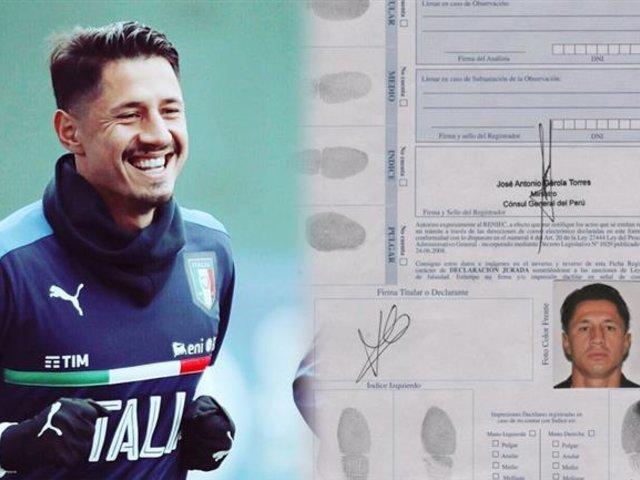 Gianluca Lapadula cerca de tener DNI peruano y podrá ser convocado por Gareca