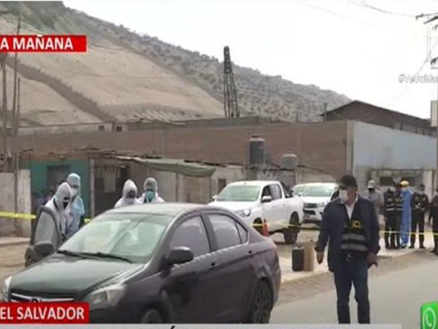 Hombre fue asesinado dentro de su automóvil en Villa El Salvador
