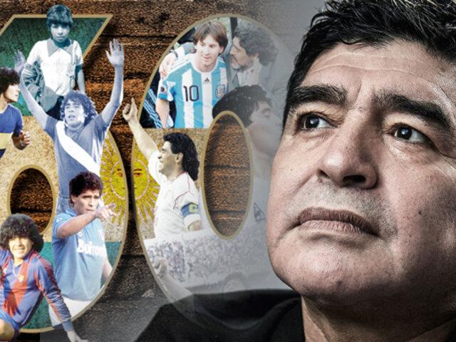 Diego Armando Maradona cumple 60 años