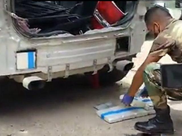 Madre de Dios: hallan más de 40 kilos de droga oculta en la carrocería de una camioneta