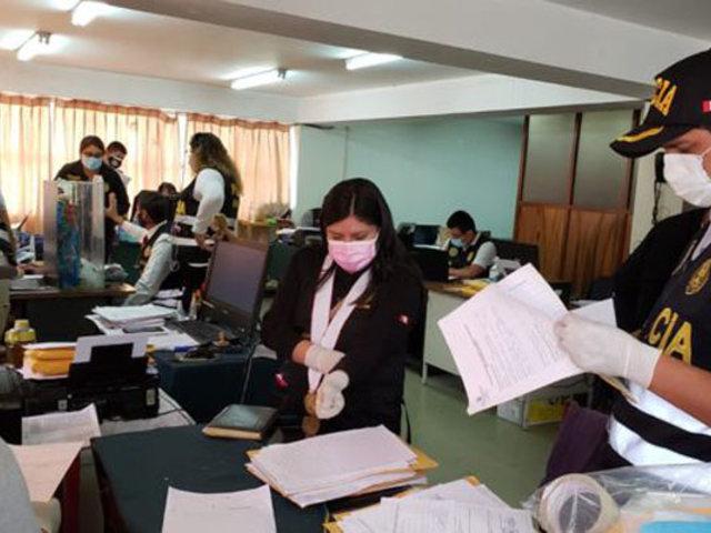 Detienen a seis policías acusados de encubrir a peligrosa banda criminal en Arequipa