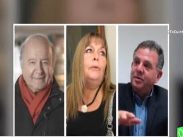 Hernando de Soto presenta plancha presidencial integrada por Jaime Salomón y Corinne Flores