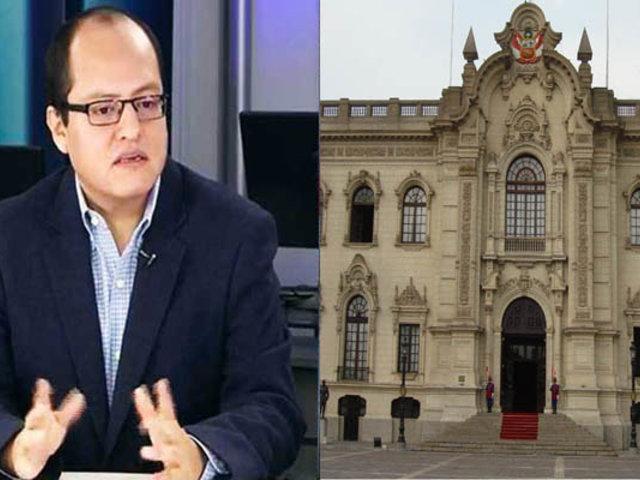Víctor Quijada: Próximo Gobierno tiene la tarea de discutir un posible cambio de constitución