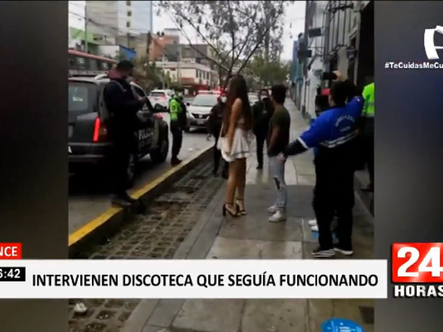 Lince: clausuran por tercera vez discoteca que funcionaba pese a prohibición
