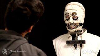 Disney creó robot sin piel que mueve y parpadea los ojos de manera realista