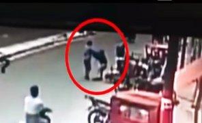 Iquitos: delincuentes asaltan a empresario cuando acababa de salir del banco