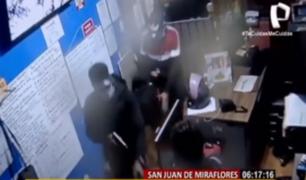 SJM: delincuentes aprovechan un descuido para robar en distribuidora de gas