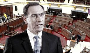 Martín Vizcarra: Congreso aprueba admisión de moción de vacancia