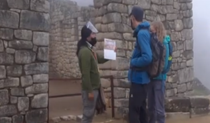 Así fue el ingreso de los primeros turistas a Machu Picchu tras su reapertura
