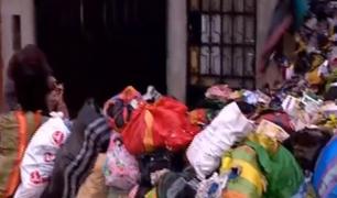 Cercado de Lima: vecinos afectados por basura que sujeto acumula desde 2018