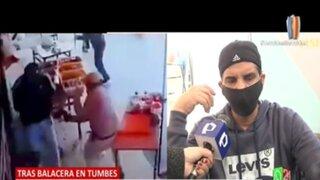 Luis Miguel Llanos: Habla empresario que estuvo a punto de quedarse parapléjico tras ataque delincuencial