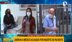 Denuncian a Fiscalía por liberación de cirujano estético acusado de negligencia