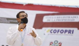 Vacancia presidencial: Martín Vizcarra pide al Congreso adelantar fecha de debate