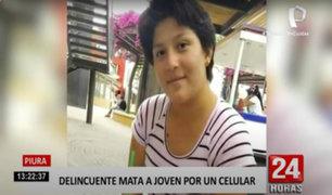 Piura: asesinan a joven de 23 años por resistirse a robo de celular