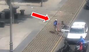 Cercado de Lima: tráfico del Jr. Huánuco es aprovechado por delincuentes para asaltar