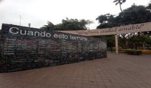 """""""El muro de la esperanza"""": plasman emotivos mensajes de lo que quieren hacer cuando termine la pandemia"""