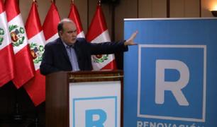 El precandidato Rafael López Aliaga propone la pena de muerte para violadores