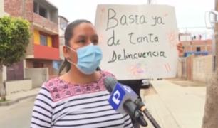 Chorrillos: vecinos de Villa Marina continúan en pie de guerra con delincuentes
