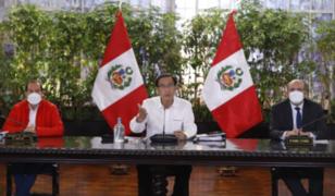Vizcarra sobre nuevo pedido de vacancia: El Perú no se merece estar en zozobra permanente