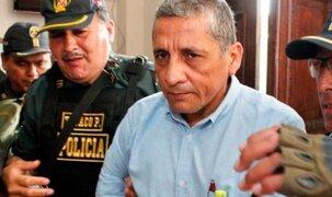 Antauro Humala: INPE le prohibió comunicarse con el exterior por 30 días